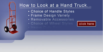 How to look at a handtruck